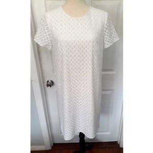 Ann Taylor White Dress size 10